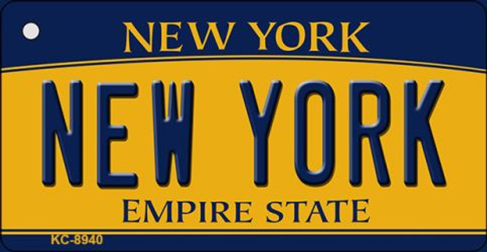 New York State License Plate Wholesale Key Chain KC-8940