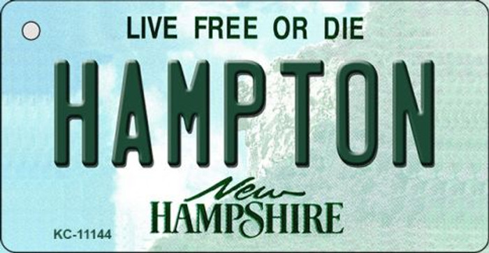 Hampton New Hampshire State License Plate Wholesale Key Chain KC-11144