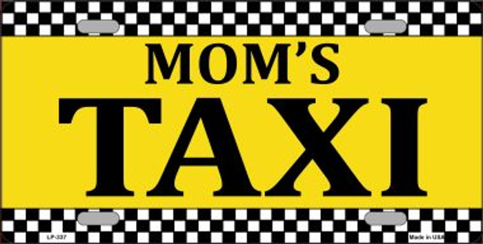 Mom's Taxi Wholesale Metal Novelty License Plate LP-337