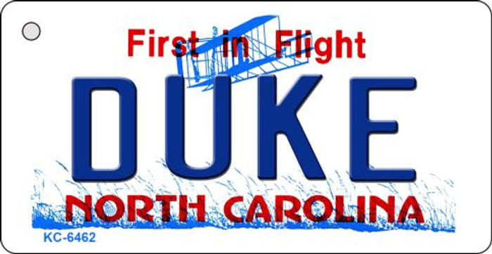 Duke North Carolina State License Plate Wholesale Key Chain KC-6462