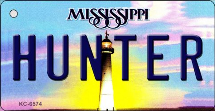 Hunter Mississippi State License Plate Wholesale Key Chain KC-6574