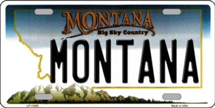 Montana State Novelty Wholesale License Plate LP-11085