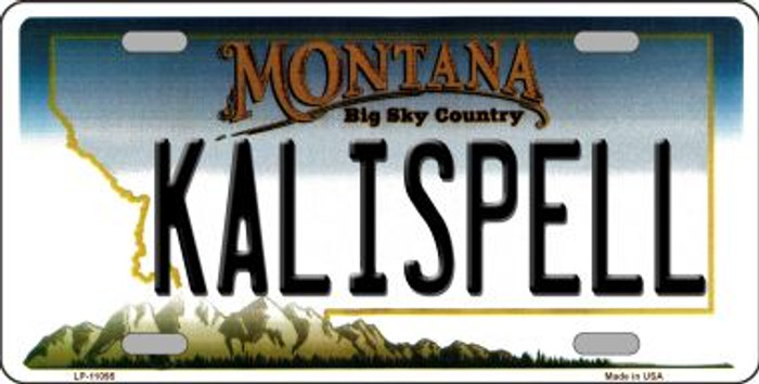 Kalispell Montana State Novelty Wholesale License Plate LP-11095