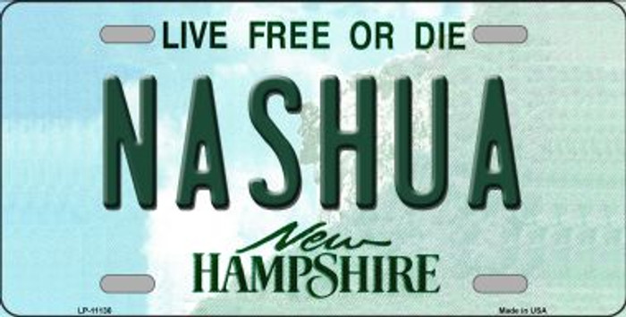 Nashua New Hampshire State Wholesale License Plate LP-11136
