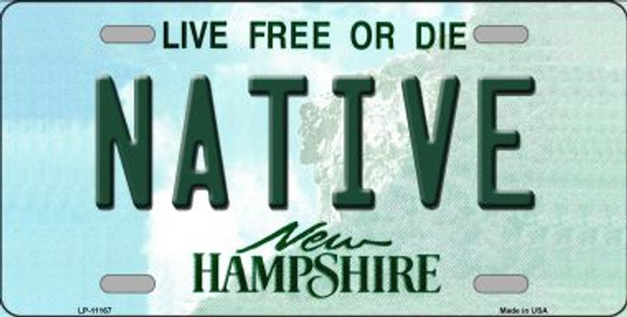 Native New Hampshire State Wholesale License Plate LP-11167
