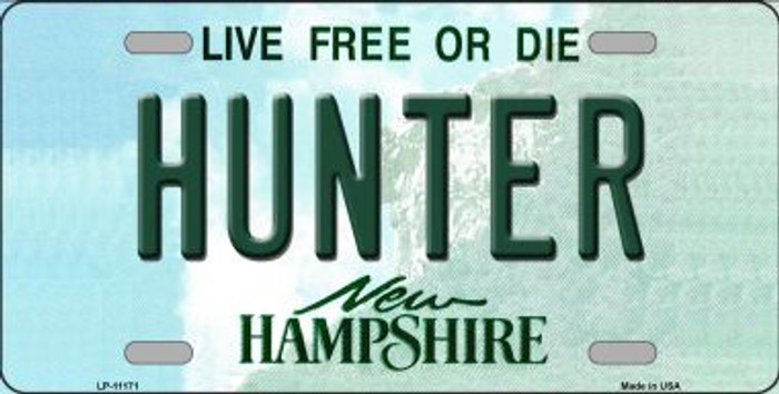 Hunter New Hampshire State Wholesale License Plate LP-11171