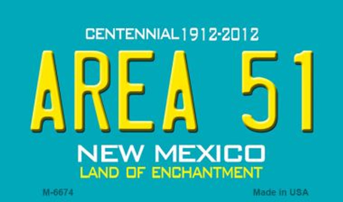 Area 51 New Mexico Novelty Wholesale Magnet