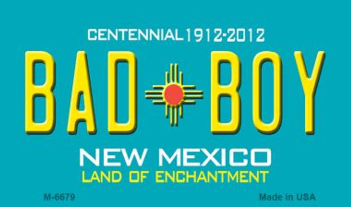 Bad Boy New Mexico Novelty Wholesale Magnet