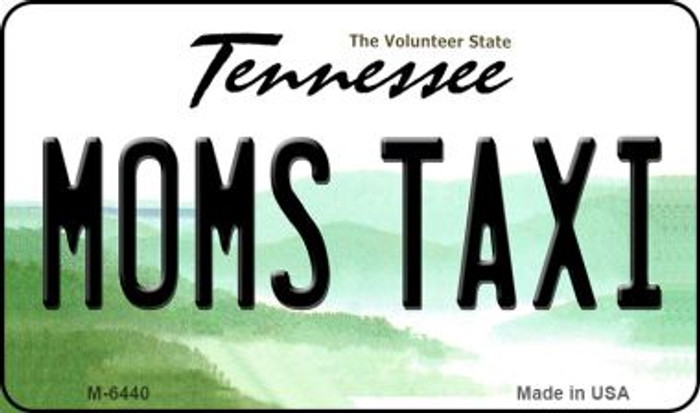 Moms Taxi Tennessee State License Plate Wholesale Magnet M-6440