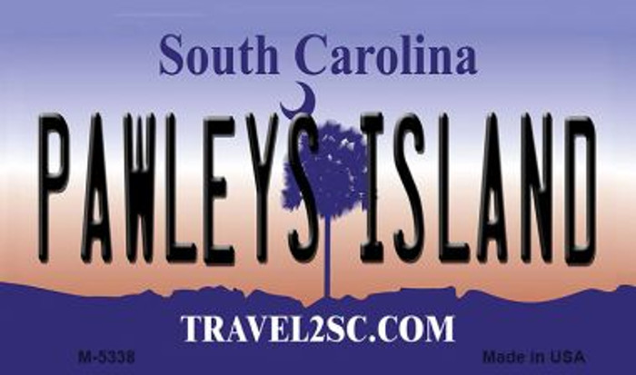 Pawleys Island South Carolina State License Plate Wholesale Magnet M-5338