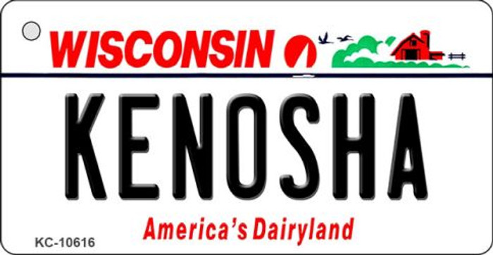 Kenosha Wisconsin License Plate Novelty Wholesale Key Chain KC-10616