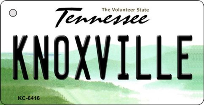 Knoxville Tennessee License Plate Wholesale Key Chain KC-6416