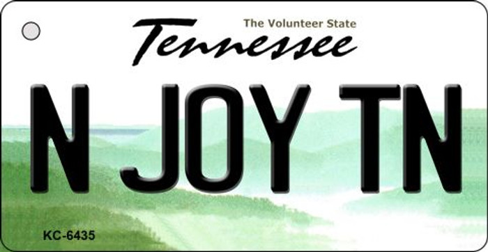 N Joy TN Tennessee License Plate Wholesale Key Chain KC-6435