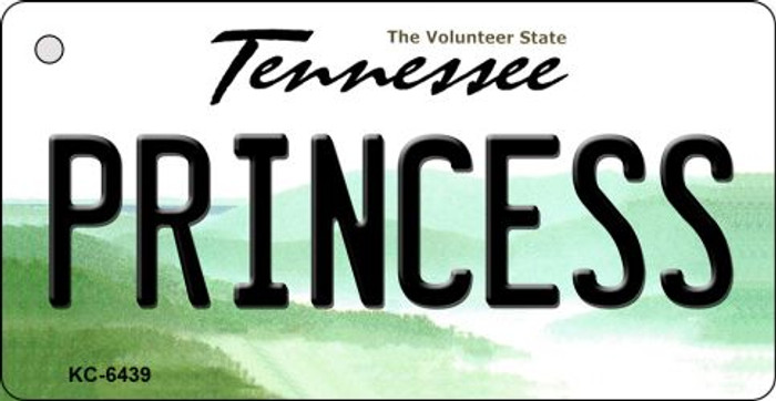 Princess Tennessee License Plate Wholesale Key Chain KC-6439