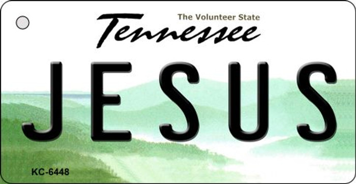 Jesus Tennessee License Plate Wholesale Key Chain KC-6448
