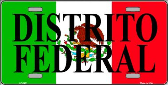 Distrito Federal Mexico Wholesale Metal Novelty License Plate LP-3451
