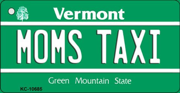 Moms Taxi Vermont License Plate Novelty Wholesale Key Chain