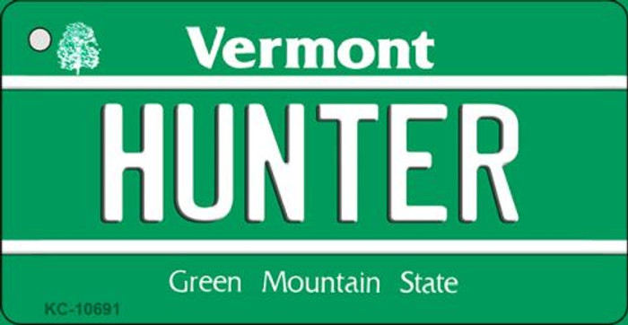 Hunter Vermont License Plate Novelty Wholesale Key Chain