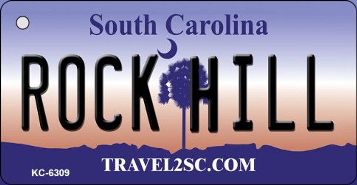 Rock Hill South Carolina License Plate Wholesale Key Chain