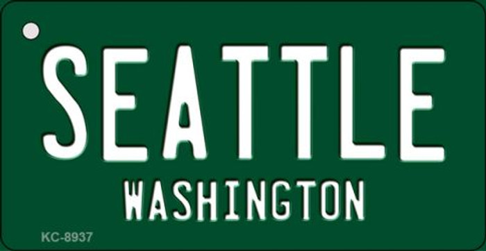 Seattle Vintage Washington State License Plate Wholesale Key Chain KC-8937