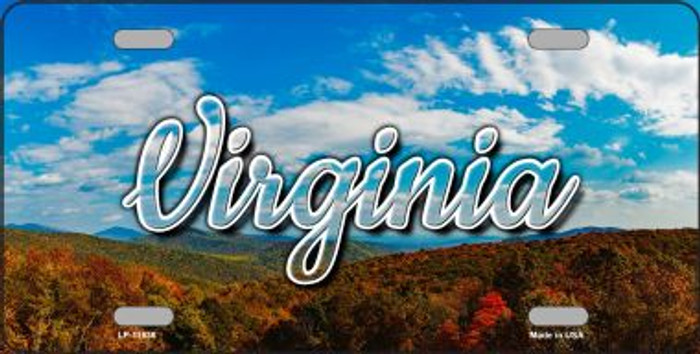 Virginia Mountain Range Wholesale State License Plate LP-11636