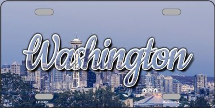 Washington Space Needle Wholesale State License Plate LP-11637