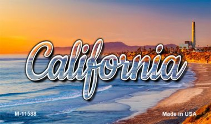 California Beach Wholesale Magnet M-11588