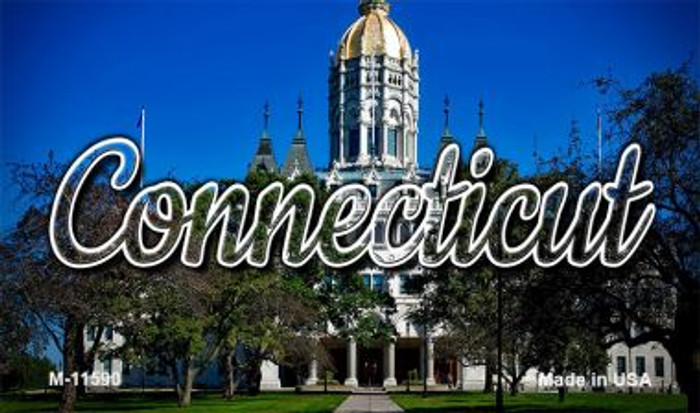 Connecticut Capital Building Wholesale Magnet M-11590