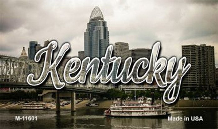Kentucky City Skyline Wholesale Magnet M-11601