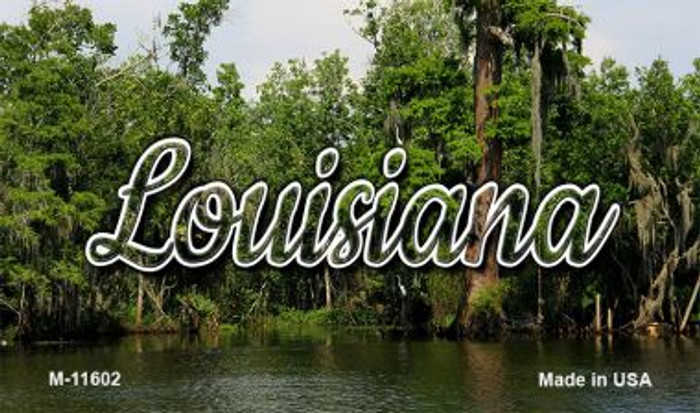 Louisiana Swamp Wholesale Magnet M-11602