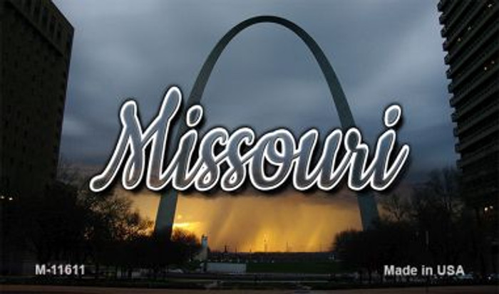 Missouri Gateway Arch Wholesale Magnet M-11611