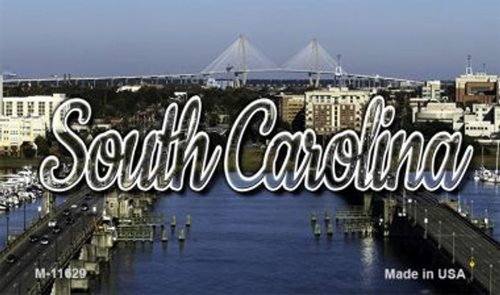 South Carolina City Bridge Wholesale Magnet M-11629