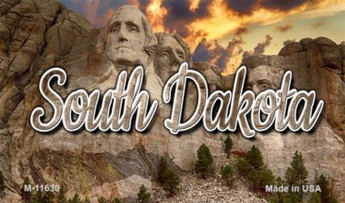 South Dakota Mt Rushmore Wholesale Magnet M-11630