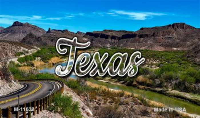 Texas City Lights Wholesale Magnet M-11633