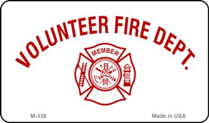 Volunteer Fire Dept Novelty Wholesale Magnet M-338