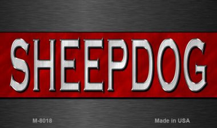 Sheepdog Fire Novelty Wholesale Magnet M-8018