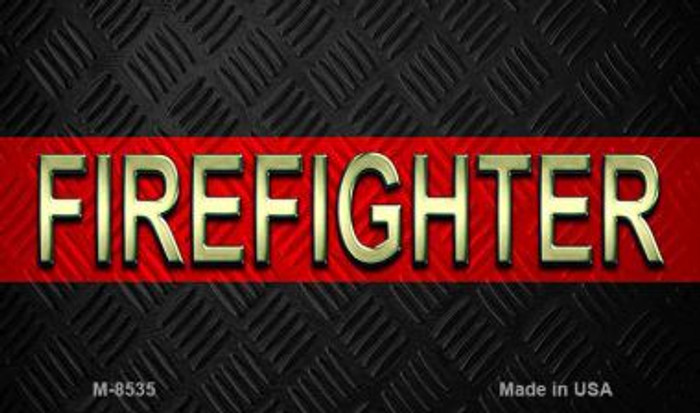 Firefighter Novelty Wholesale Magnet M-8535