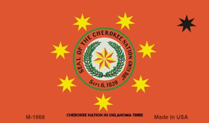 Cherokee Nation Novelty Wholesale Magnet M-1868