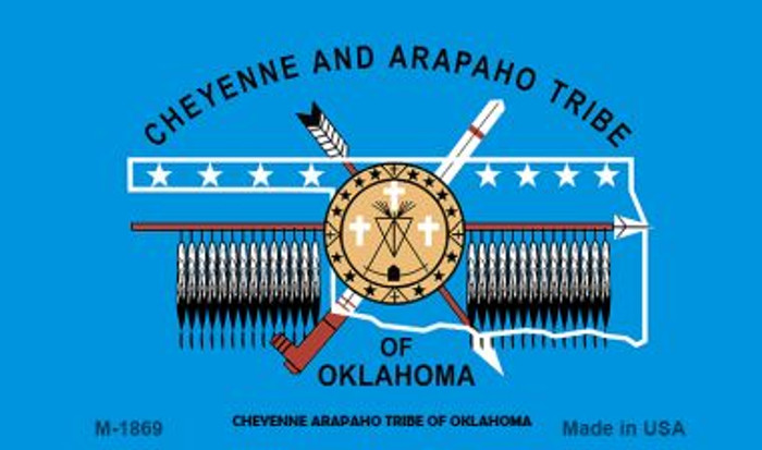Cheyenne Arapaho Tribe Novelty Wholesale Magnet M-1869