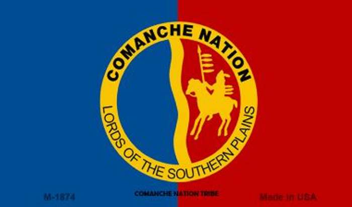 Comanche Nation Tribe Novelty Wholesale Magnet M-1874