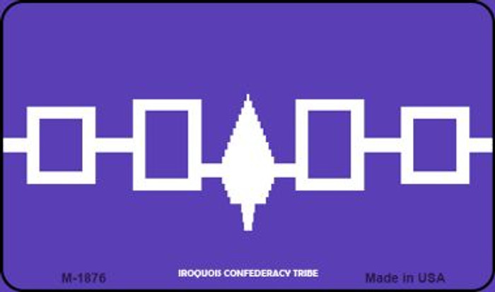 Iroquois Confederacy Tribe Novelty Wholesale Magnet M-1876