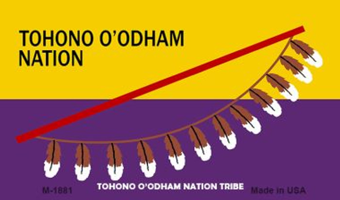 Tohono O'odham Tribe Novelty Wholesale Magnet M-1881