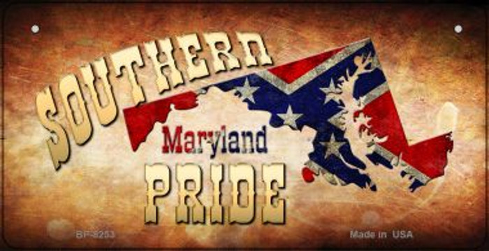Southern Pride Maryland Novelty Wholesale Bicycle Plate BP-8253