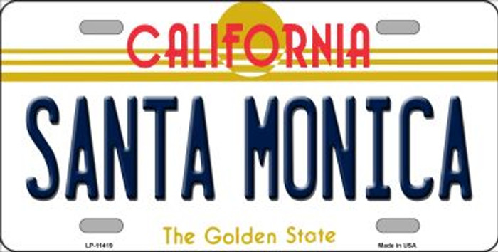Santa Monica California Novelty Wholesale License Plate LP-11419