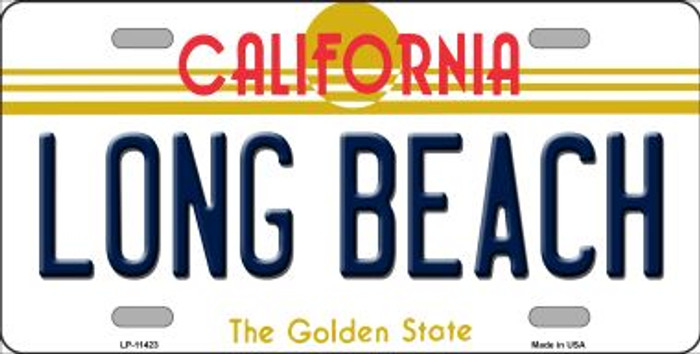 Long Beach California Novelty Wholesale License Plate LP-11423