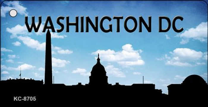 Washington DC Silhouette Wholesale Key Chain KC-8705