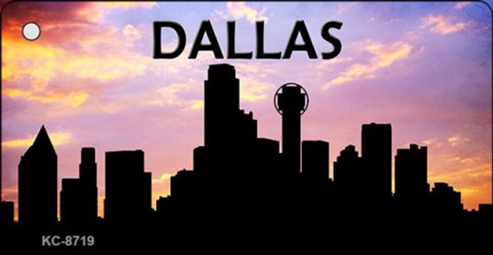 Dallas Silhouette Wholesale Key Chain KC-8719