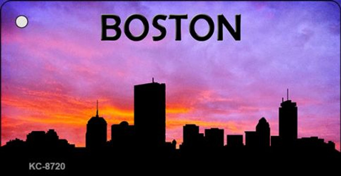 Boston Silhouette Wholesale Key Chain KC-8720