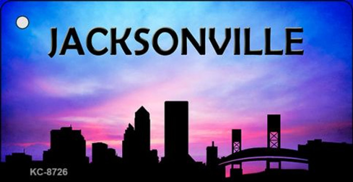 Jacksonville Silhouette Wholesale Key Chain KC-8726
