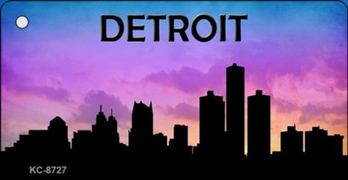 Detroit Silhouette Wholesale Key Chain KC-8727